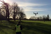AMP Drone at Howbery