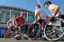 Smooga sponsors England Wheelchair Rugby 7s
