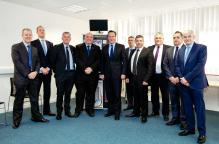 Thermarestor team and partners with David Cameron at Witney BIC